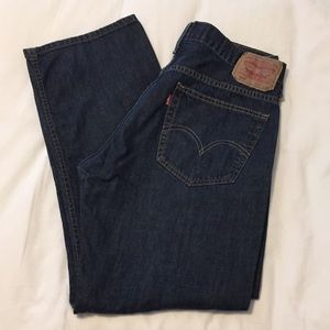LEVI 569 Loose Straight Jeans, 32x30